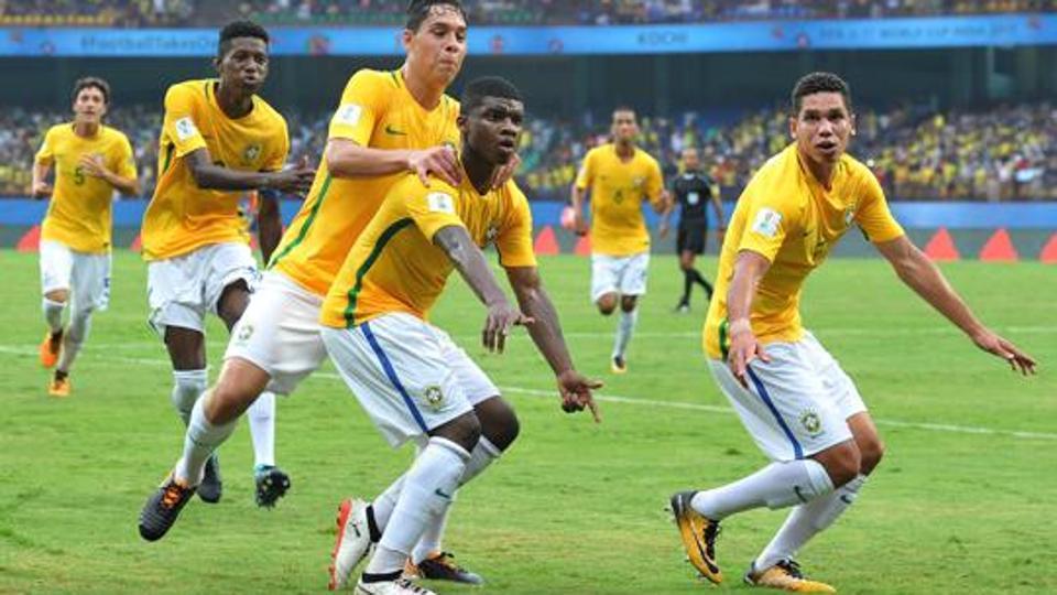 U17 Brazil vs U17 Honduras .